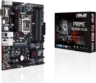 ASUS PRIME B250M-PLUS LGA 1151 (Socket H4) Intel® B250 Micro ATX