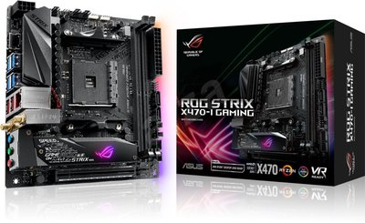 ASUS ROG STRIX X470-I GAMING Socket AM4 AMD X470 mini ITX