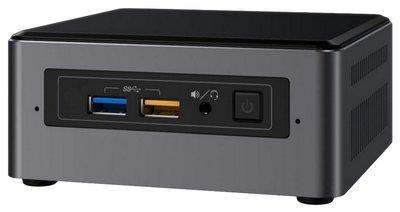 Intel NUC7I5BNH i5-7260U 2,2 GHz Zwart