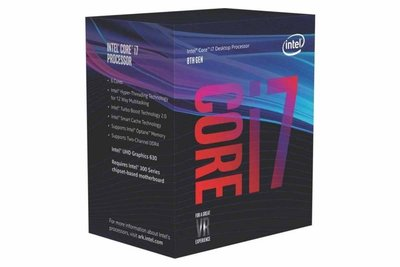 Intel Core i7-8700 processor 3,2 GHz Box 12 MB Smart Cache