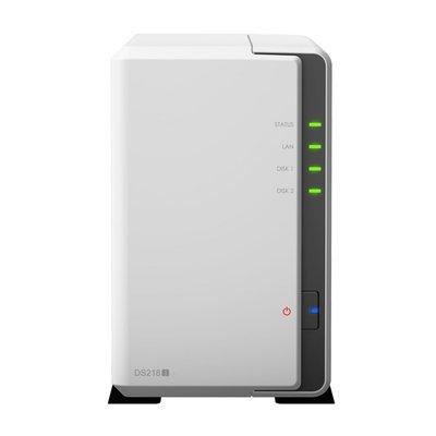 Synology DiskStation DS218J NAS Compact Ethernet LAN Wit data-opslag-server