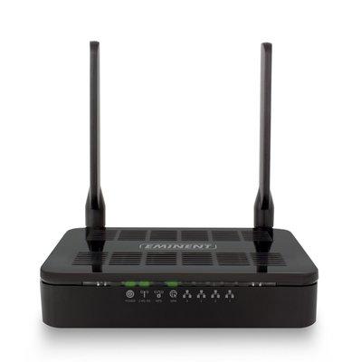 Eminent EM4710 Dual-band (2.4 GHz / 5 GHz) Gigabit Ethernet Zwart draadloze router