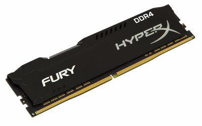 Kingston HyperX FURY Memory Black 4GB DDR4 2400MHz 4GB DDR4 2400MHz geheugenmodule