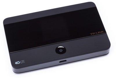 TP-LINK M7350 LTE-Advanced Wi-Fi Zwart uitrusting voor draadloos mobiel netwerk