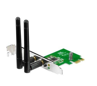 ASUS PCE-N15 netwerkkaart & -adapter Intern RF Draadloos 300 Mbit/s
