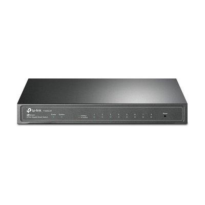TP-LINK T1500G-8T Managed L2/L3/L4 Gigabit Ethernet (10/100/1000) Power over Ethernet (PoE) Zwart netwerk-switch