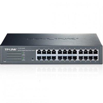 TP-LINK JetStream Managed L2 Gigabit Ethernet (10/100/1000) Zwart