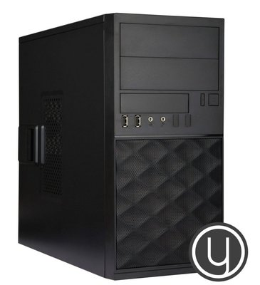 Yours Black Desktop PC i7/16GB/2TB/240GB SSD/HDMI/W10
