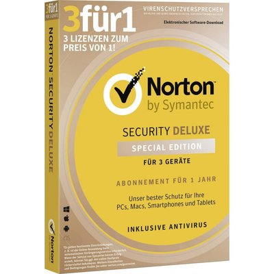Symantec Norton Internet Security 3.0 1 User 3 devices Multi