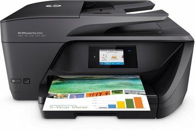 HP OfficeJet Pro 6960 Thermische inkjet 18 ppm 600 x 1200 DPI A4 Wi-Fi
