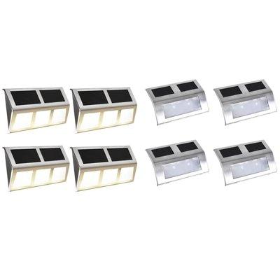 Solarlampenset LED-lampen 8-delig