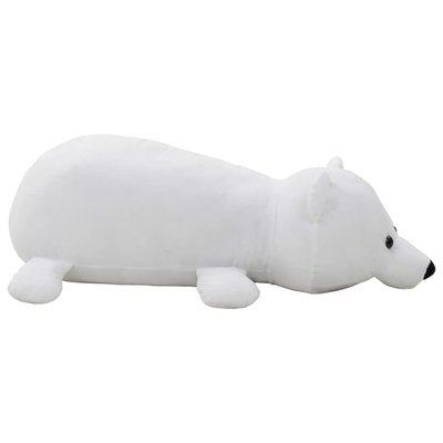 Knuffel ijsbeer pluche wit