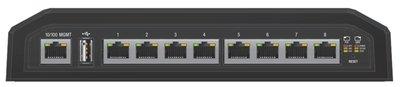Ubiquiti Networks EdgeSwitch 8XP Managed Gigabit Ethernet (10/100/1000) Zwart Power over Ethernet (PoE)