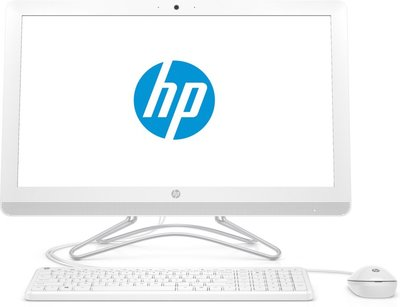 HP AIO F-HD-IPS 21.5 / I3-7100 /  4GB / 240B SSD / W10