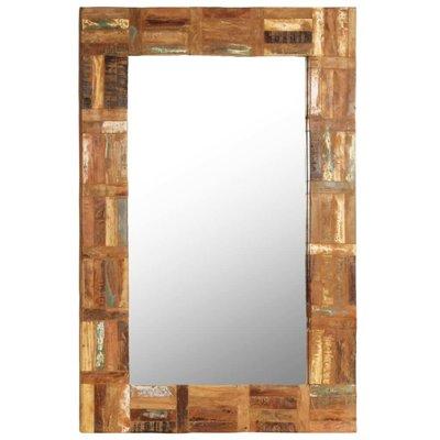 Wandspiegel 60x90 cm massief gerecycled hout