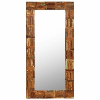 Wandspiegel 60x120 cm massief gerecycled hout
