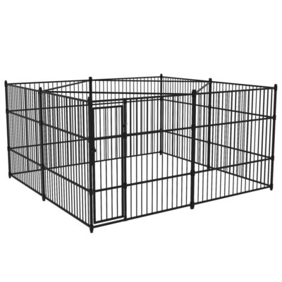 Hondenkennel voor buiten 400x400 cm