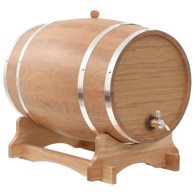 Wijnvat met kraantje 35 L massief eikenhout