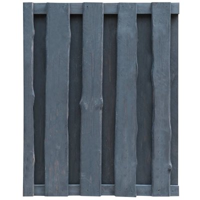 Schuttingpaneel 100x125 cm FSC grenenhout grijs