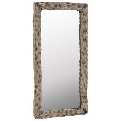 Spiegel 50x100 cm riet bruin