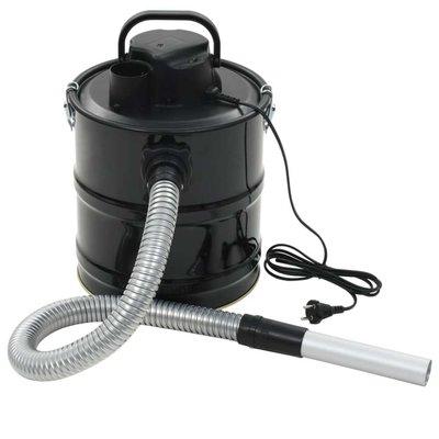 Asstofzuiger met HEPA filter 1000 W 20 L zwart