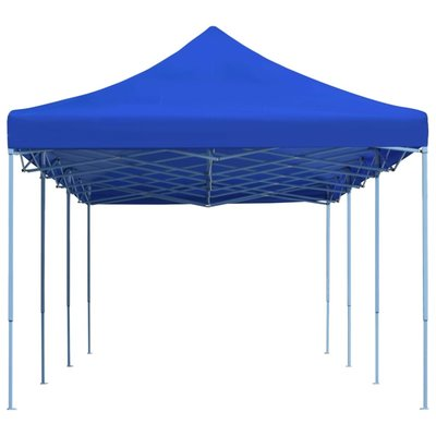 Vouwtent pop-up 3x9 m blauw