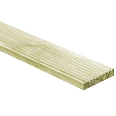 6 st Terrasplanken 1,34 m² FSC hout