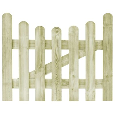 Poort 100x80 cm FSC geïmpregneerd grenenhout