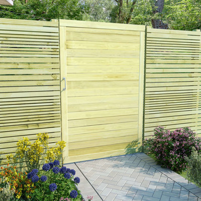 Poort 150x100 cm FSC geïmpregneerd grenenhout