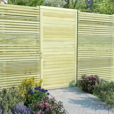 Poort 200x100 cm FSC geïmpregneerd grenenhout