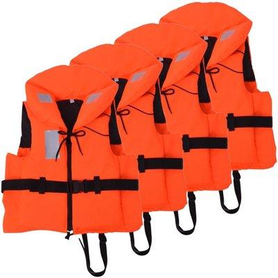 Zwemvesten 100 N 40-60 kg 4 stuks