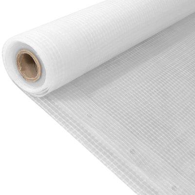 Leno dekzeil 260 g/m² 4x10 m wit