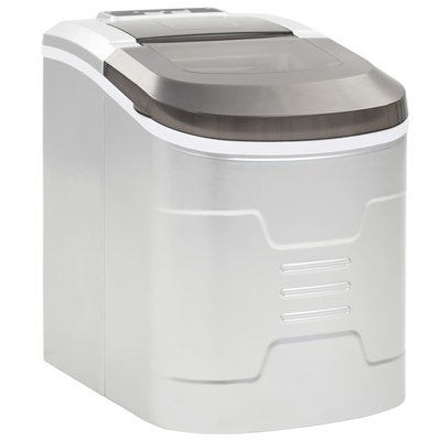 IJsblokjesmachine 2,4 L 15 kg/24 u zilver