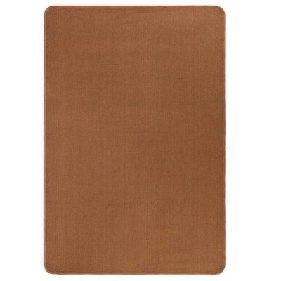 Tapijt met latex onderkant 120x180 cm jute bruin