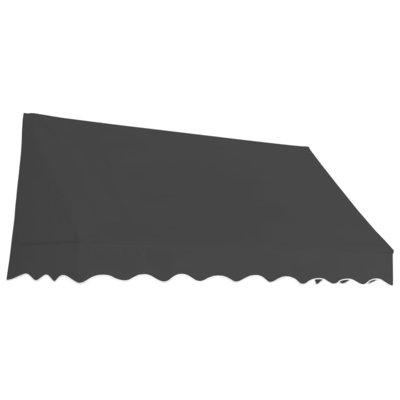 Luifel 200x120 cm antraciet