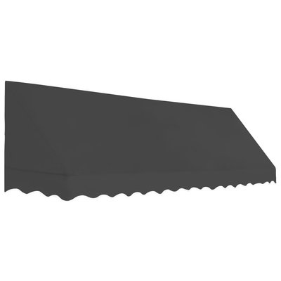 Luifel 350x120 cm antraciet