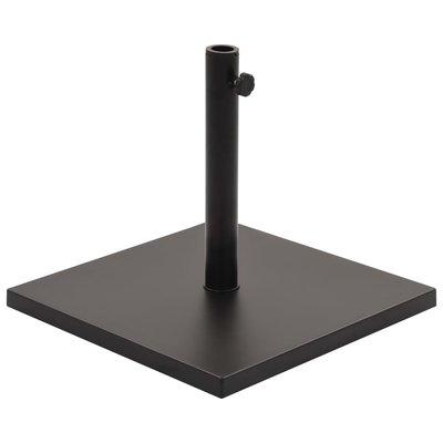 Parasolvoet vierkant 18 kg zwart