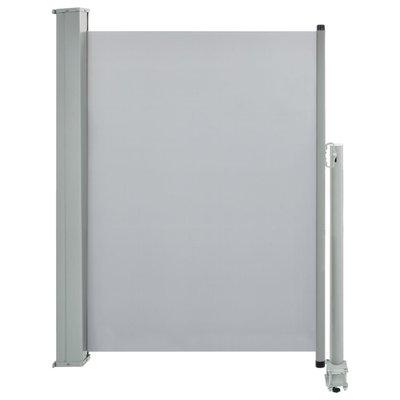 Zijluifel uittrekbaar 100x300 cm grijs