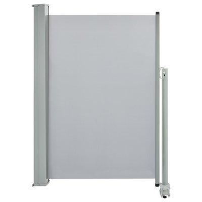 Zijluifel uittrekbaar 120x300 cm grijs