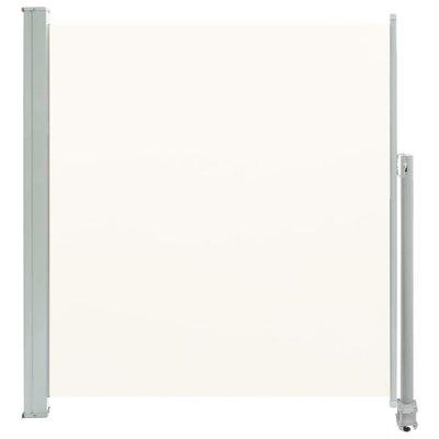 Zijluifel uittrekbaar 140x300 cm crème