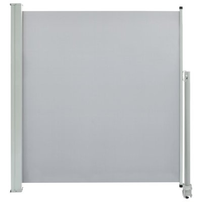 Zijluifel uittrekbaar 140x300 cm grijs
