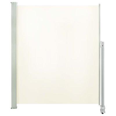 Zijluifel uittrekbaar 160x300 cm crème