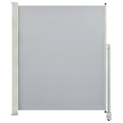 Zijluifel uittrekbaar 160x300 cm grijs