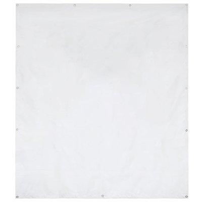 Partytent zijpaneel 550 g/m² 2x2 m PVC wit