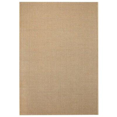 Vloerkleed binnen/buiten 160x230 cm sisal look beige