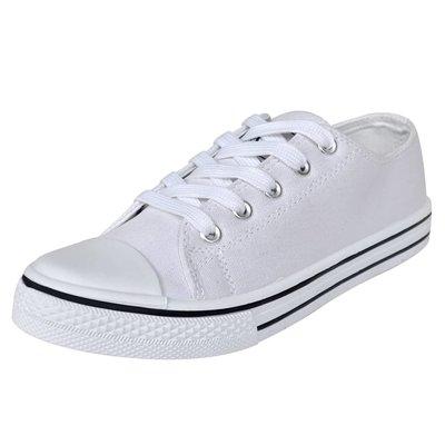 Klassieke lage dames sneakers wit (maat 41)