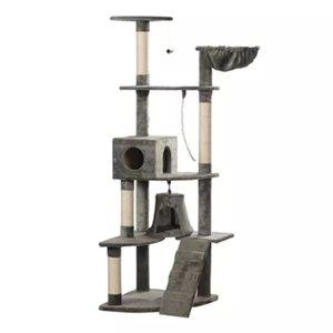 Kattenkrabpaal Jaapie 191 cm (grijs)