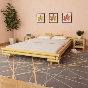 Bedframe bamboe 160x200 cm