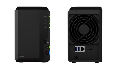 Synology DiskStation DS218 NAS Desktop Ethernet LAN Zwart