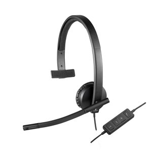 Logitech H570e Headset Hoofdband Zwart